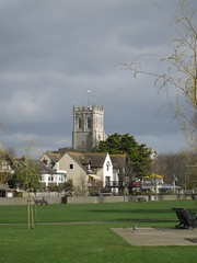 Christchurch Priory Church (crwilliams) Tags: christchurch church dorset date:month=march date:day=14 date:year=2009 date:hour=12 date:wday=saturday