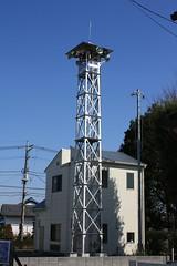 福岡の火の見櫓(ふじみ野市)
