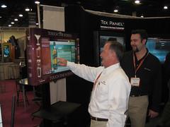 Tek Panel touch LCD