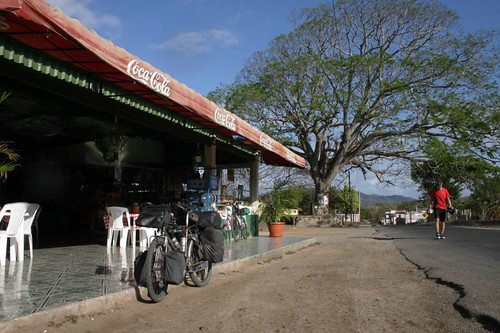 First ice cream stop in Nicaragua...
