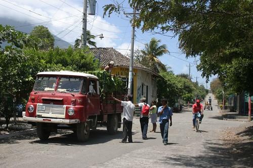 Village life in Altagracia, Ometepe - Nicaragua.