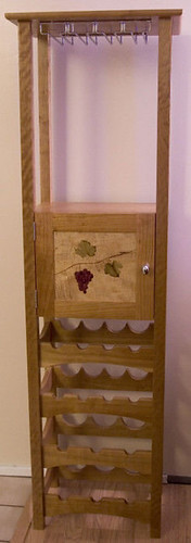 Cherry Wine Rack from drumpriest
