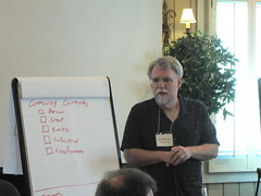 Randy Farmer discusses reputation at the March 2009 Online Community Business Forum - Sonoma, CA