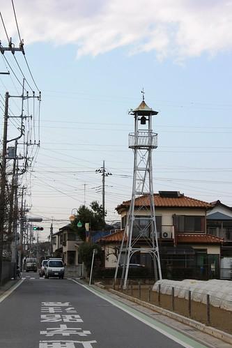 今福中台の火の見櫓