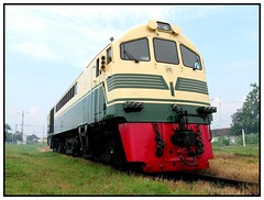 First of the many (Spoor Soni) Tags: indonesia nose shed shovel ge railways api cirebon kereta dipo alco