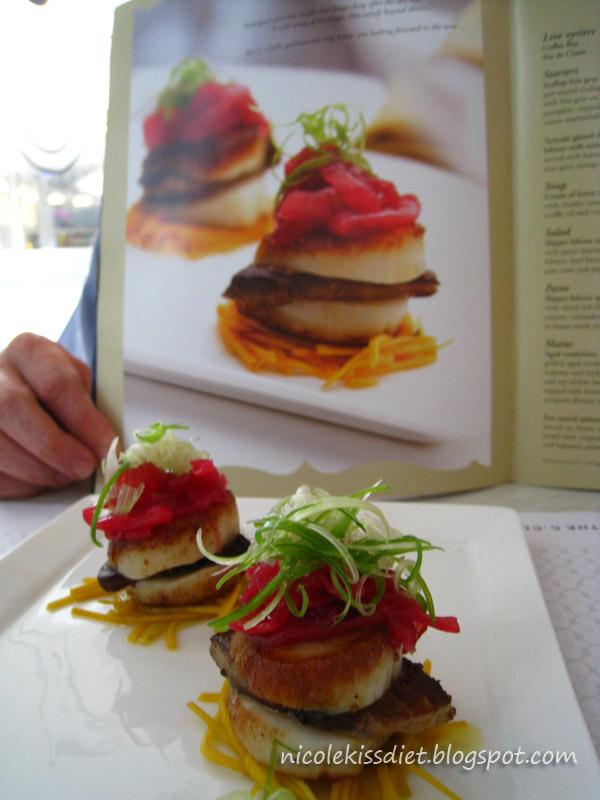 foie gras scallops