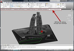 AutoCAD 2010 and Bonus Tool Drawing Tabs MDITabs