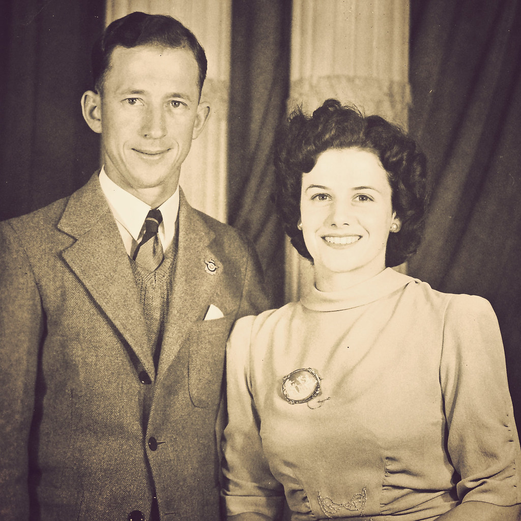 grandma and grandpa wright
