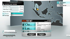 little bit better speeds with p1 wimax this morning before 9am (jan geirnaert in malaysia) Tags: screenshot snagit fastinternet p1wimax p1commy p1slow slowwimax