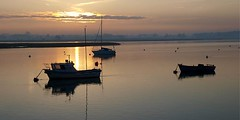 Deben 119 Waldringfield (barrycross) Tags: uk reflection water sunrise dawn boat suffolk spring flickr yacht calm bouy equinox dinghy moorings riverdeben barrycross easternlightphotography barrycrossphotography wwwbarrycrossphotographycom