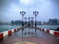 The Image of a Dream (BenHammad) Tags: city uae abudhabi breakwater