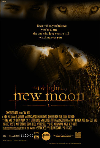 New Moon Movie Poster {When You Believe Your Alone} by lubbie_luvs_twilight.