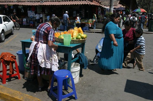The Mango Woman. Antigua, Guatemala.