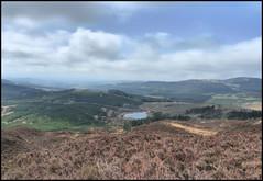 Auchinleck loch from Craigloom hill