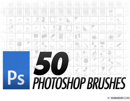 50 Free Photoshop Brush Sets You Should Bookmark - Hongkiat