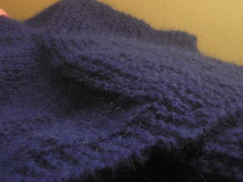 My garter yoke cardigan