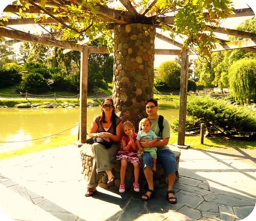 los 4 en el Jardin Japones