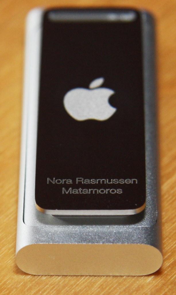 Nora's iPod Shuffle