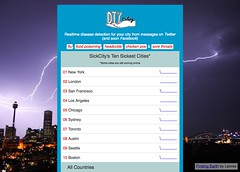 Realtime disease detection for your city - SickCity_1239959342097