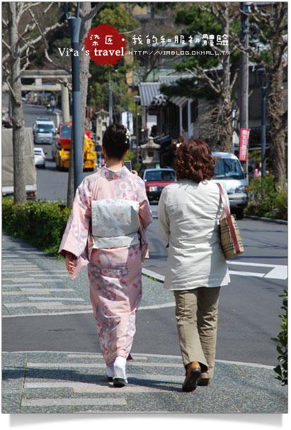 【京都賞櫻旅】京都旅遊~高台寺染匠和服體驗篇高台寺染匠和服體驗18