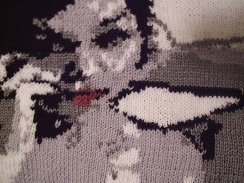 Athena Kneeling Detail
