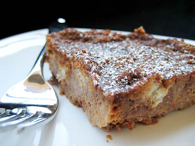 Good Eats 'n Sweet Treats: Four Star Chocolate Bread Pudding (TWD)