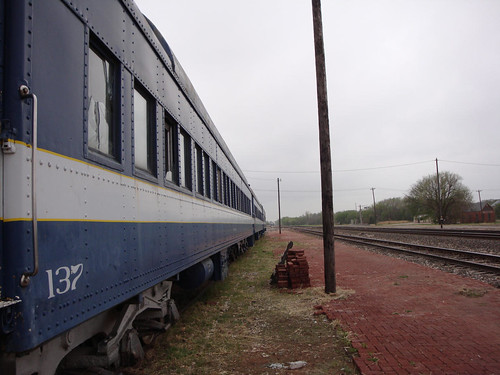 Old Passenger Train, Guthrie, Oklahoma