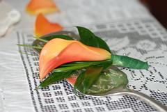 (lseney12) Tags: lily callalily boutonniere mangocallalily
