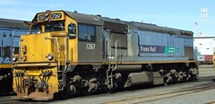 DFB 7267 Wellington NZ (AA654) Tags: newzealand rail railway loco nz wellington locomotive dfb tranzrail kiwirail