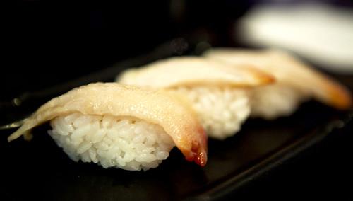 Geoduck sushi