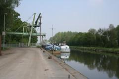 Open Vld zet er vaart achter (Open Vld Vlaams-Brabant) Tags: er open vld vaart achter binnenvaart dijle patriciaceysens zet cargillmalt