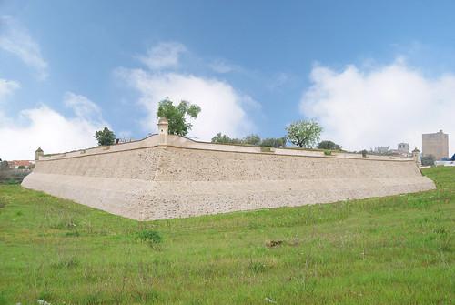 Muralla de Olivenza (Badajoz- España)
