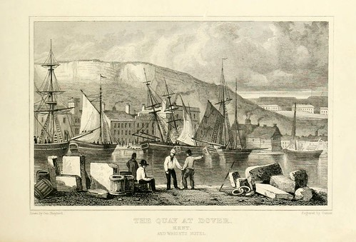 006- El muelle en Dover-Kent-1830