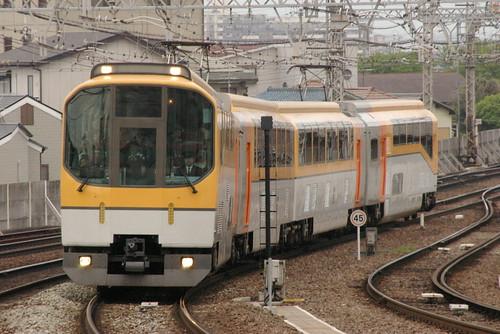 Kintetsu20000series in Yamato-Yagi,Kashihara,Nara,Japan 2009/5/4