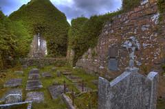 church3tif_bearbeitet-1 (cosmo_71) Tags: ireland white black church graveyard nikon ruin tokina1224 irland burren churchyard hdr ballyvaughan d90