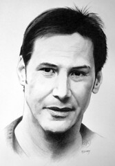 Keanu Reeves (pbradyart) Tags: portrait bw art pencil movie star sketch artwork drawing moviestar filmstar keanureeves aworkofart anawesomeshot goldstaraward moviestardrawing filmstardr