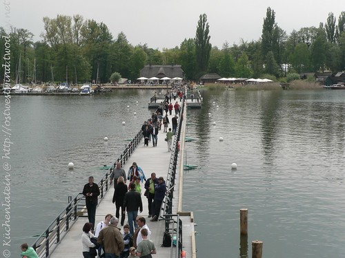 Schwimmende Brücke