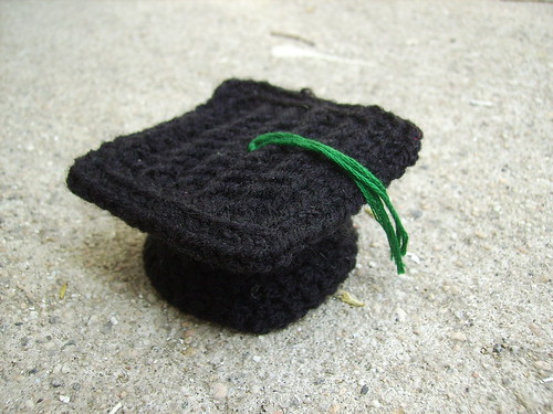 Crocheted Graduation Hat