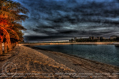 The dramatic sky... (Abdallah | Photography) Tags: sky lake tree beach high construction flickr 10 top dramatic saudi arabia hdr ksa abdullah abdallah khobar defination interestingness379 explore19may09