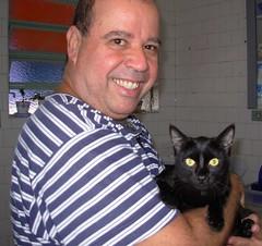 Carlos e Duda (sosgatinhos) Tags: black love cat furry kitten feline chat noir negro preto gato felino shelter kuro adoption adoo peludo adote abrigo animalwelfare catlover sosgatinhos