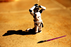 curious trooper (afphotography2000) Tags: eye canon toys starwars blind stormtrooper lightsaber curious hasbro krayzee smoked toosday