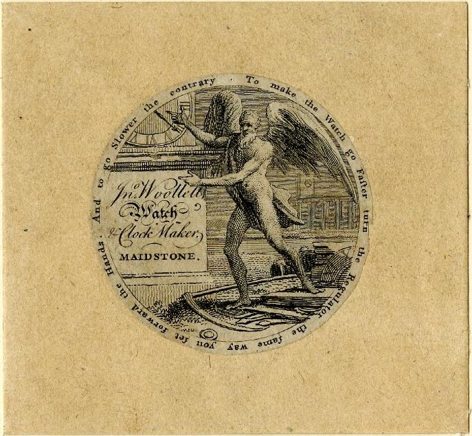 Antiguas ilustraciones [marcas de relojes]