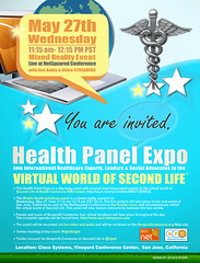 Health Panel Expo Poster design by Joysco Studio