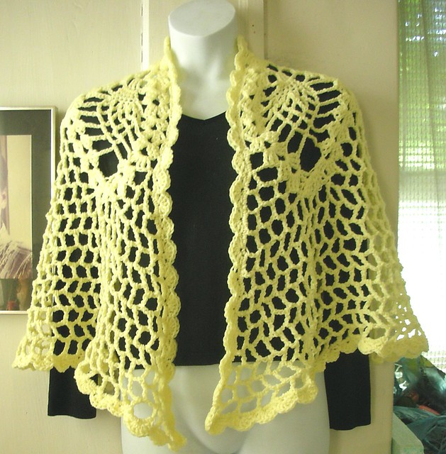 Crochet Shawl Patterns in Delta Crochet - HASS DESIGN CROCHET