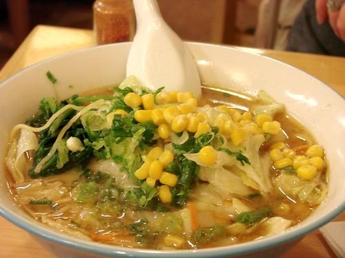 Sapporo Vegetable Ramen