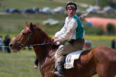 Horse competition in Lyhny