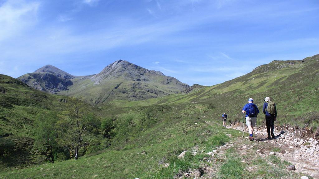 Approaching Ben Sgritheall