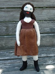 Bearded Lady doll