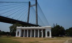 Second Bridge (abhi_at_flickr) Tags: bridge india nikon second kolkata westbengal d60