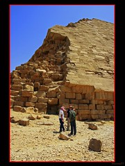 (921) Snofru's Bent Pyramid / Dahschur / Egypt (unicorn 81) Tags: africa old travel history sahara architecture trekking geotagged northafrica egypt unesco egyptian pyramids egipto bentpyramid dahshur 2009 ägypten egitto egypte reise egypten weltkulturerbe rundreise roundtrip egipt pyramiden égypte mapegypt misr nordafrika egypttrip april2009 dahschur ægypten aegyptus αίγυπτοσ ægyptusintertravel ägyptenreise schulzaktivreisen meinjahr2009